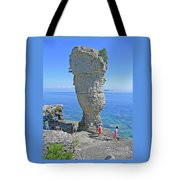 Sea Stack Perspective Tote Bag