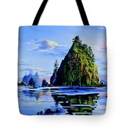 Sea Stack Serenity Tote Bag