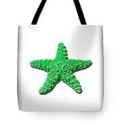 Sea Star Green .png Tote Bag