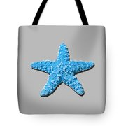 Sea Star Light Blue .png Tote Bag