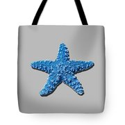 Sea Star Medium Blue .png Tote Bag