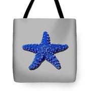 Sea Star Navy Blue .png Tote Bag