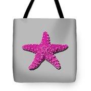 Sea Star Pink .png Tote Bag