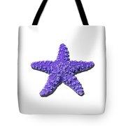 Sea Star Purple .png Tote Bag