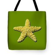 Sea Star Yellow .png Tote Bag