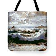Sea Storm Tote Bag