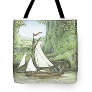 Sea Story Tote Bag