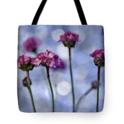 Sea Thrift Blossoms Tote Bag