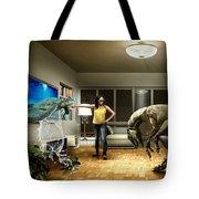 Sea Turtle Art Tote Bag