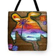Sea Turtle Love Tote Bag