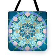 Sea Turtle Mandala  Tote Bag