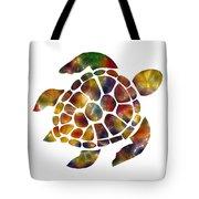 Sea Turtle Tote Bag by Michael Colgate