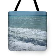 Sea Waves Tote Bag