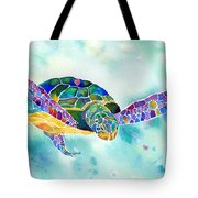 Sea Weed Sea Turtle  Tote Bag