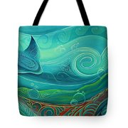 Seabed By Reina Cottier Tote Bag