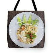 Seafood Fried Rice Tote Bag