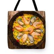 Seafood Paella  Tote Bag