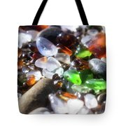 Seaglass Background Tote Bag