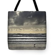 Seagull At Cannon Beach Tote Bag