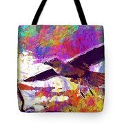 Seagull Birds Flight Wings Freedom  Tote Bag