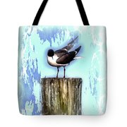 Seagull - Laughing Gull Pop Art  Tote Bag
