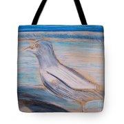 Seagull  On Seashore Tote Bag