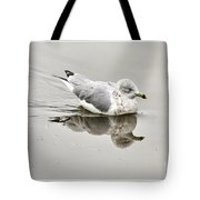 Seagull Reflections Tote Bag