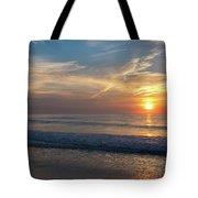 Seagull Sunrise Along The Jersey Shore Tote Bag