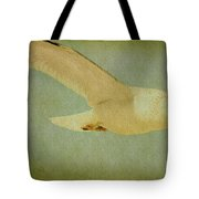 Seagull Texture Tote Bag
