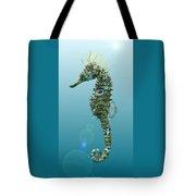 Seahorse 3d Render Tote Bag