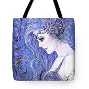 Seahorse Dreams Mermaid Tote Bag