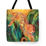 Seahorse - Spirit Of Contentment Tote Bag