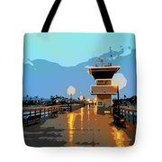Seal Beach Evening  Tote Bag