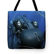 Seal Delivery Vehicle Team Members Tote Bag