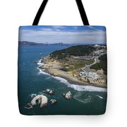 Seal Rocks At The Cliff House Tote Bag