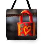 Sealed Love Tote Bag by Davorin Mance