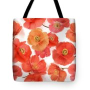 Seamless   Pattern Of Watercolor Poppy Flowers Tote Bag