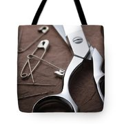 Seamstress Scissors Tote Bag