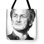 Sean Penn Tote Bag