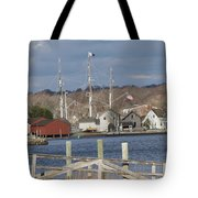 Seaport Before The Storm Tote Bag