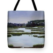 Searching Savannah Marsh By Marilyn Nolan- Johnson Tote Bag