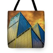 Sears Tower By Skidmore, Owings And Merrill Dsc4411 Tote Bag