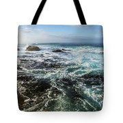 Seas Of The Wild West Coast Of Tasmania Tote Bag