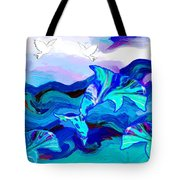 Seascape Adventures Tote Bag