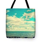 Seascape Cloudscape Instagramlike Tote Bag
