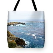 Seascape From Point Lobos State Reserve Near Monterey-california  Tote Bag