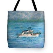 Seascape Tote Bag by Lynn Buettner