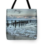 Seascape Puerto Morelos Tote Bag