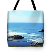 Seascape San Francisco Sutro Bath Pacific Ocean Shore Tote Bag