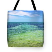 Seascape - The Colors Of Key West Tote Bag
